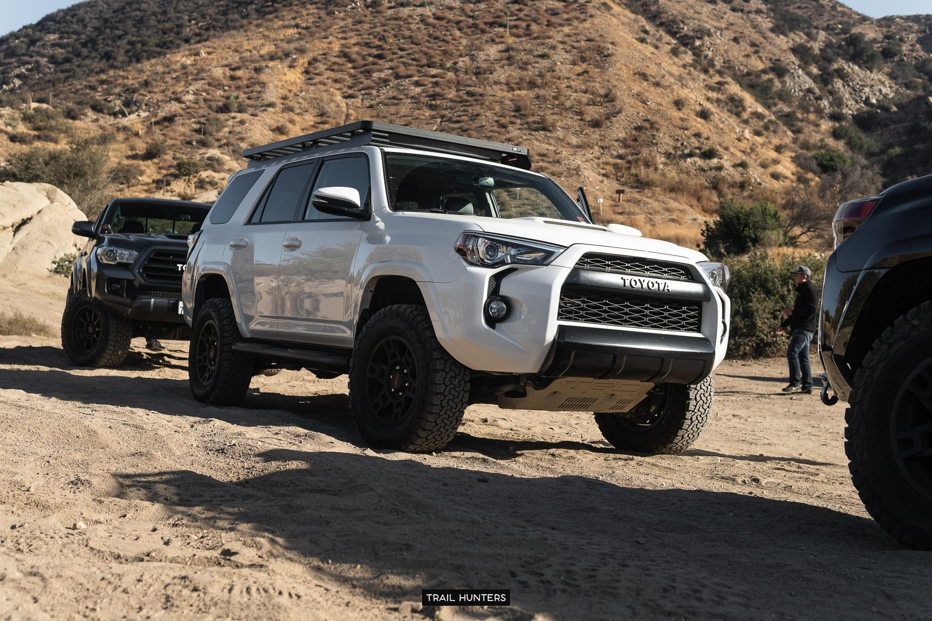 Toyota 4Runner @ Cleghorn OHV Trail