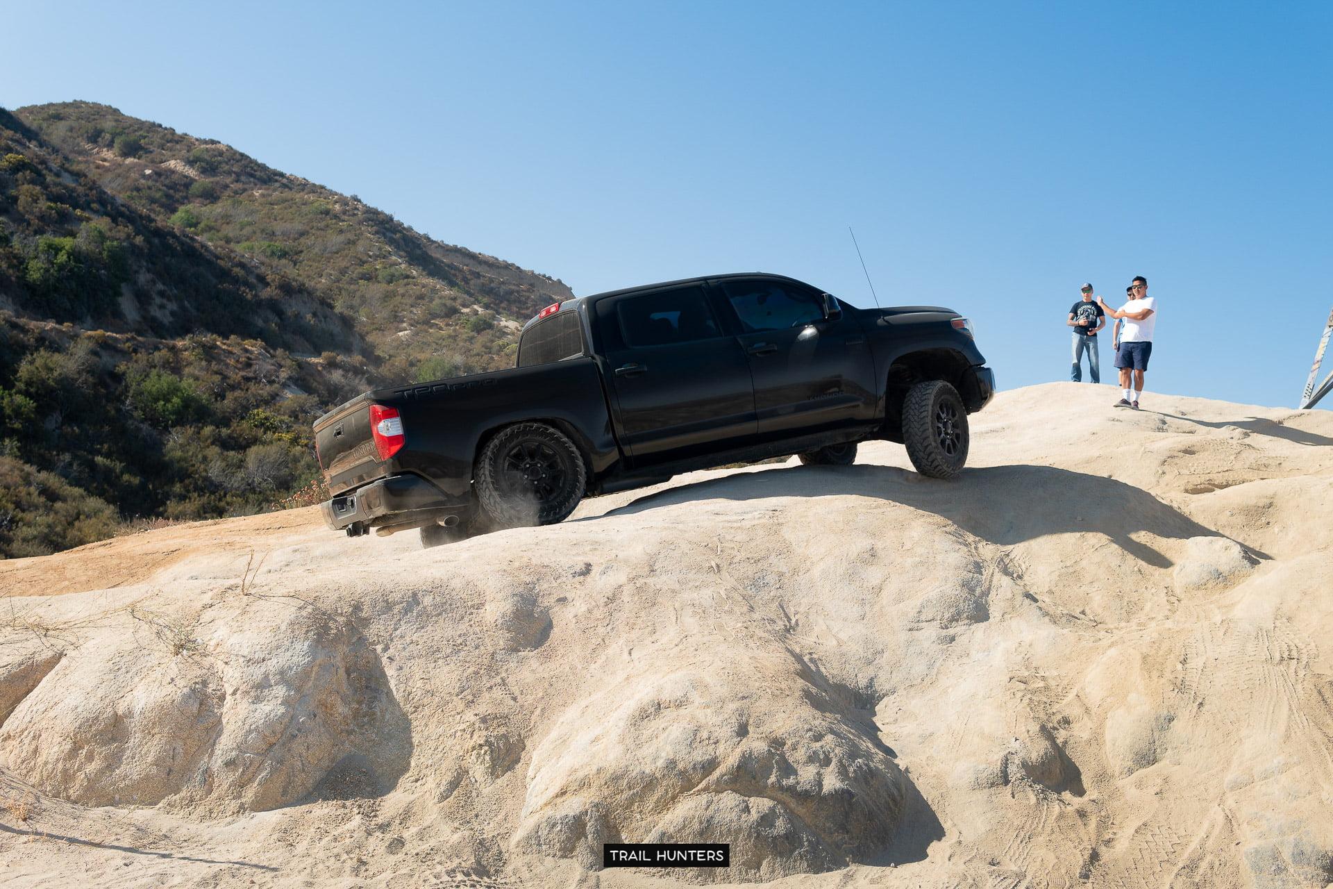 Toyota Tundra @ Cleghorn OHV Trail