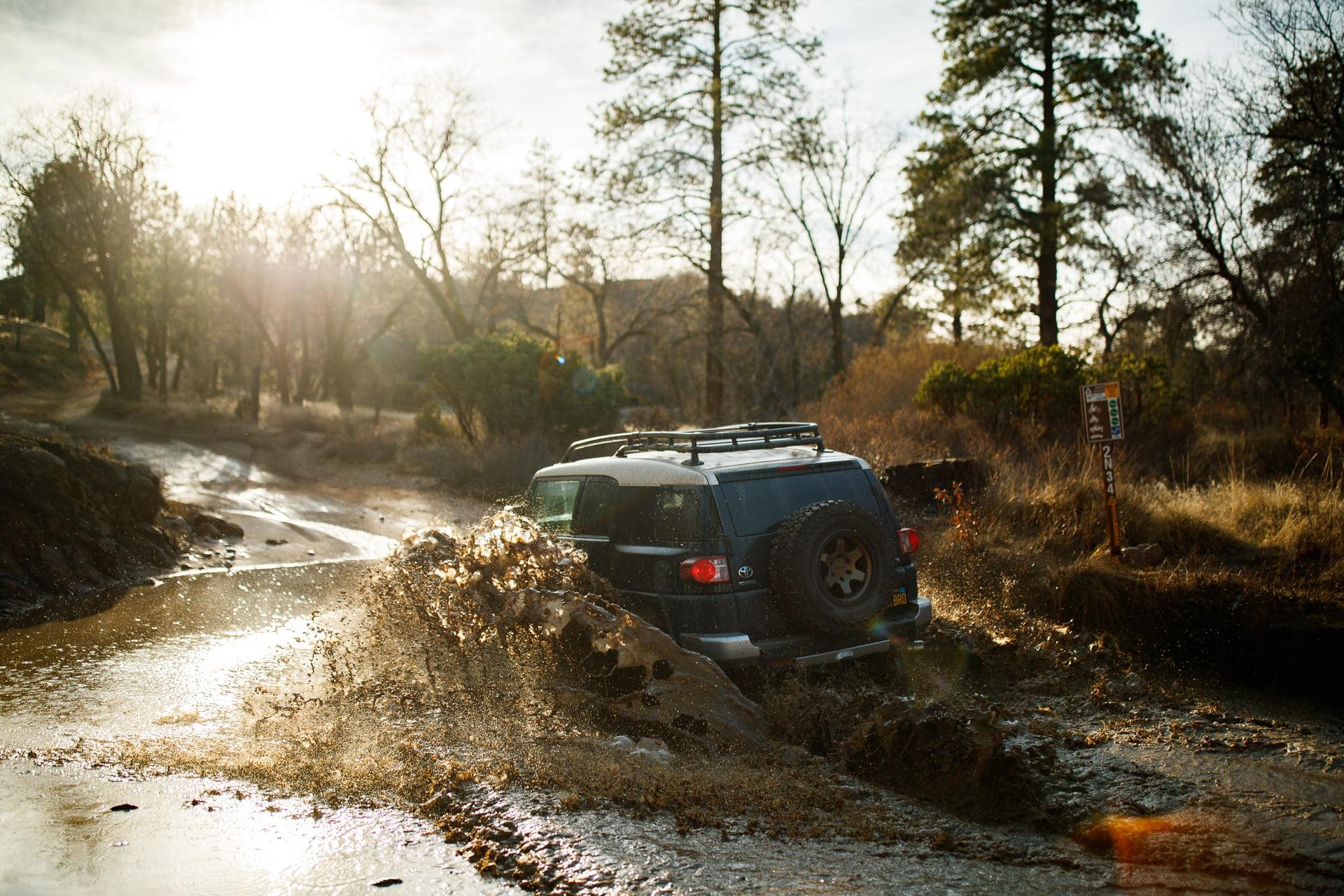 Toyota FJ Cruiser @ Pilot Rock