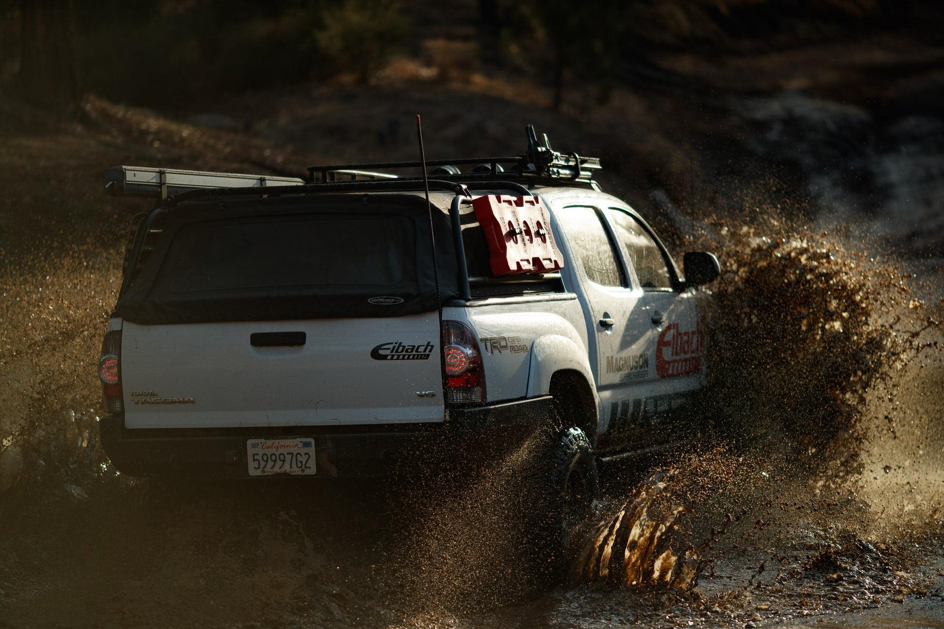 Toyota Tacoma @ Pilot Rock