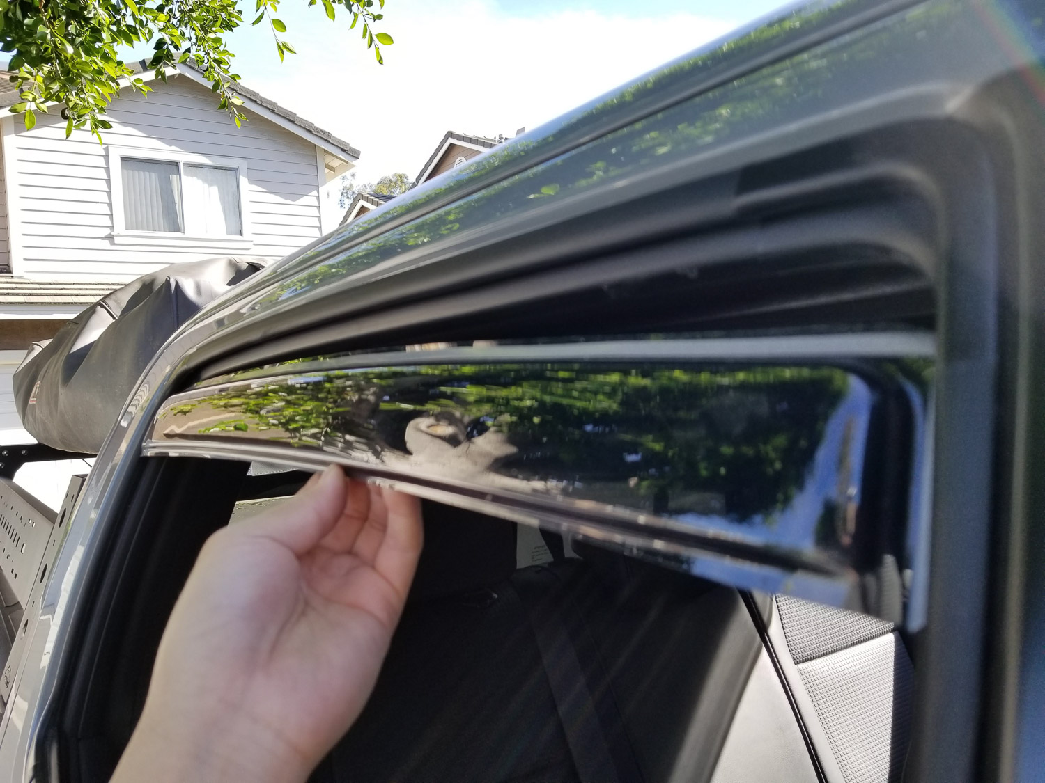 Auto Ventshade Rain Guard Side Window Deflector for 16+ Toyota Tacoma Review