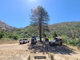 Dispersed Camping - Kings Canyon - Fresno Vomac Campsite #1